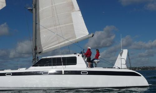 Image of Grey Bull Sailing Cat 54 for sale in New Zealand for $445,000 (£342,975) New Zealand