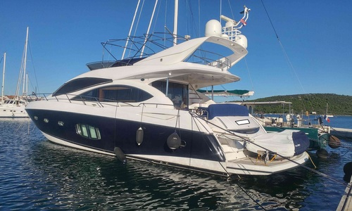 Image of Sunseeker Manhattan 70 for sale in Croatia for €830,000 (£743,022) Croatia