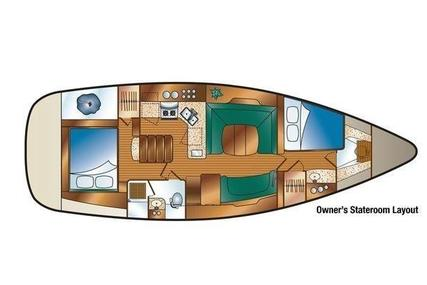 Hunter 41 Deck Salon for sale in United States of America for $179,000 (£140,087)