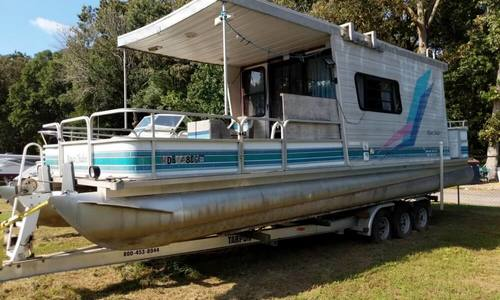 Image of Leisure Kraft 30 House Boat for sale in United States of America for $12,000 (£9,180) Spotsylvania, Virginia, United States of America