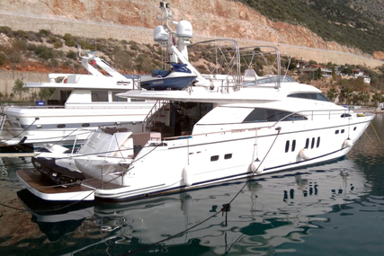 Fairline Squadron 74 for sale in Turkey for €560,000 (£491,940)