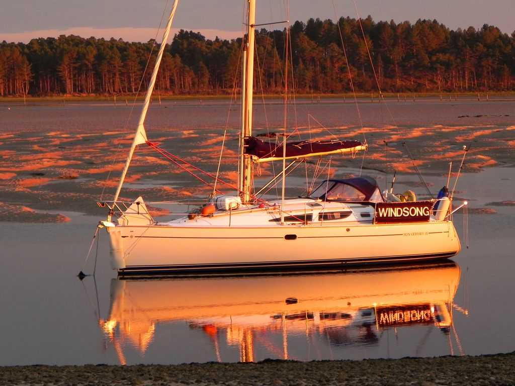 Image of Jeanneau Sun Odyssey 35 for sale in United Kingdom for £49,500  United Kingdom ...