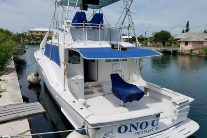 Hatteras 53 Convertible for sale in Bahamas for $35,000 (£26,597)