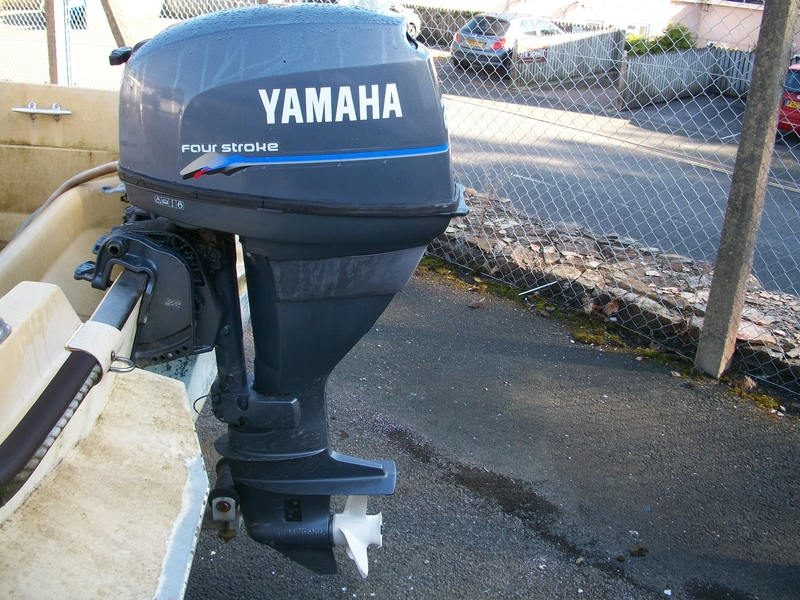 Image Of Yamaha 25 Hp Four Stroke Long Shaft Outboard For Sale In United Kingdom For
