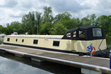 Custom Burscough 62' x 12' Wide Beam Barge for sale in United Kingdom for 140.000 £
