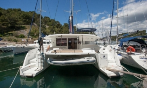 Image of Fountaine Pajot Salina 48 for sale in France for €405,000 (£350,061) AJACCIO, France