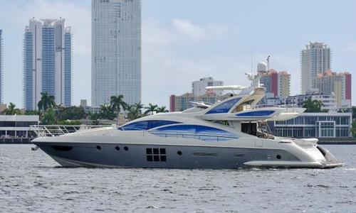 Image of Azimut Yachts 72S for sale in United States of America for $1,975,000 (£1,533,742) N. Miami Beach, FL, United States of America