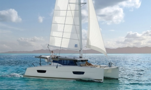 Image of Fountaine Pajot Lucia 40 for sale in Croatia for €379,000 (£347,330) TROGIR, Croatia