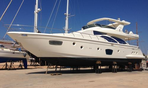 Image of Azimut Yachts 75 for sale in Greece for €990,000 (£847,632) Rhodes, , Greece