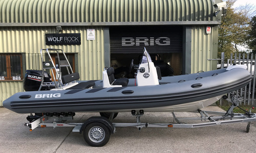 Image of Brig Navigator 570H - NEW 2020 - ORCA Hypalon for sale in United Kingdom for £31,795 South West, United Kingdom