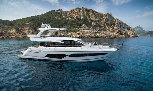 Image of Sunseeker Manhattan 66 for sale in Spain for £1,975,000 Roses, Spain