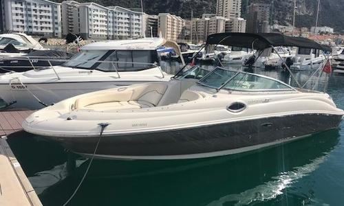 Image of Sea Ray 240 Sundeck for sale in Spain for €34,500 (£30,456) Gibraltar, Spain