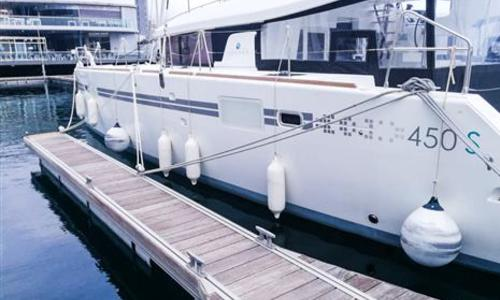 Image of Lagoon 450 SporTop for sale in Spain for €435,000 (£378,287) Spain