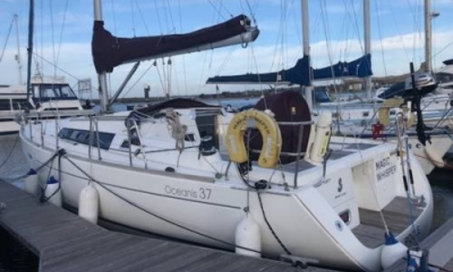 Image of Beneteau Oceanis 37 for sale in United Kingdom for £79,995 COBBS QUAY, United Kingdom
