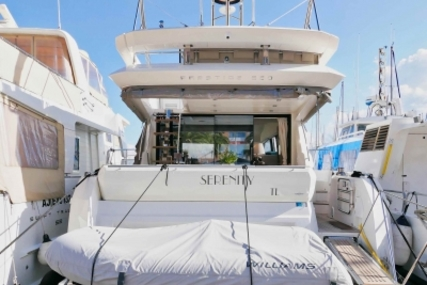 Prestige 520 for sale in France for €930,000 (£817,496)
