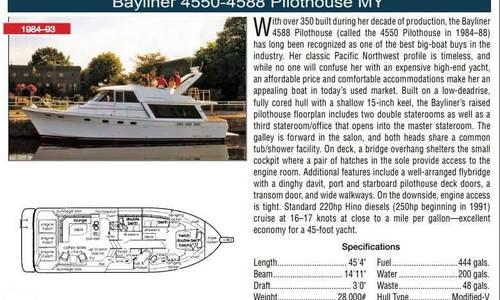 Image of Bayliner 4588 Motoryacht for sale in United States of America for $66,995 (£52,646) Havre de Grace, Maryland, United States of America