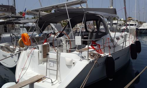 Image of Beneteau Oceanis 393 for sale in Greece for €70,000 (£59,879) Aegean, , Greece