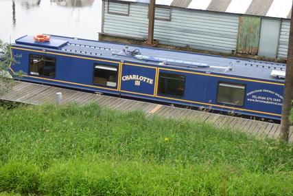 Wide Beam Narrowboat Wide beam barge for sale in United Kingdom for £65,000