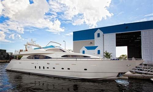 Image of Azimut Yachts 100 Jumbo for sale in United States of America for $1,950,000 (£1,485,307) Miami Beach, United States of America