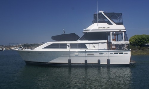 Image of TROJAN YACHT 44 Motor Yacht for sale in United States of America for $109,000 (£78,093) United States of America