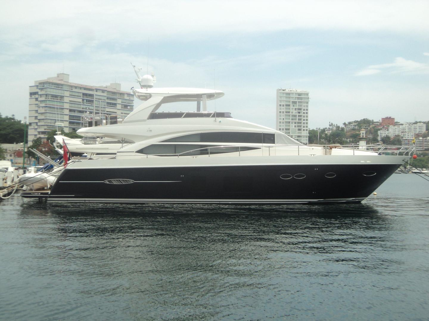 Princess Yachts International 72 Model For Sale In Mexico For 2 750 000