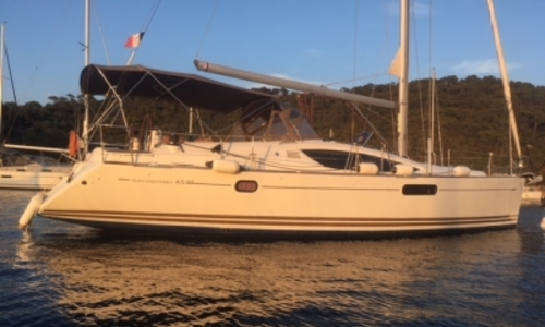 Image of Jeanneau Sun Odyssey 45 DS for sale in France for €172,000 (£147,131) HYERES, France