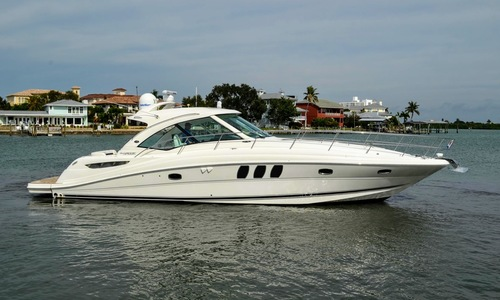 Image of Sea Ray 500 Sundancer for sale in United States of America for $549,950 (£415,292) Clearwater Beach, Florida, United States of America