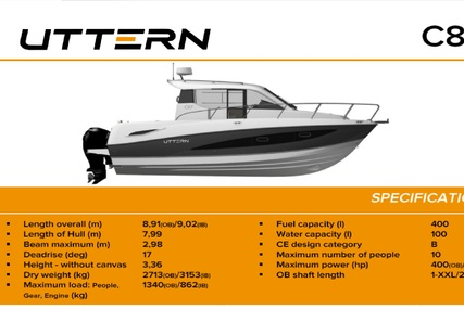 Uttern C87 for sale in  for $270,000 (£154,298)