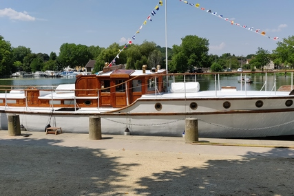 James Silver to a John Bain design Dunkirk Little Ship for sale in France for £65,000