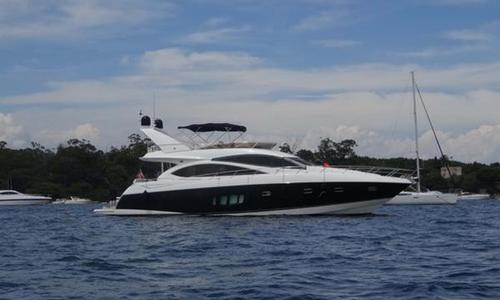 Image of Sunseeker Manhattan 70 for sale in France for €880,000 (£753,051) Antibes, France