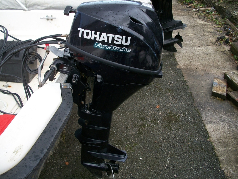 Image Of Tohatsu 9 8 Hp Four Stroke Outboard For Sale In United Kingdom For 1 095
