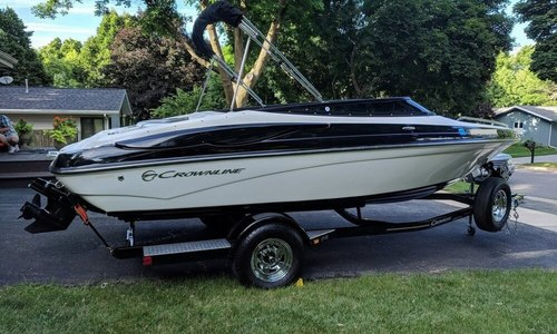 Image of Crownline 21 SS for sale in United States of America for $29,900 (£23,203) Madison, Wisconsin, United States of America