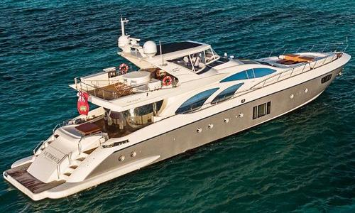 Image of Azimut Yachts 100 Leonardo for sale in Mexico for $4,660,000 (£3,751,077) Cancun, Mexico