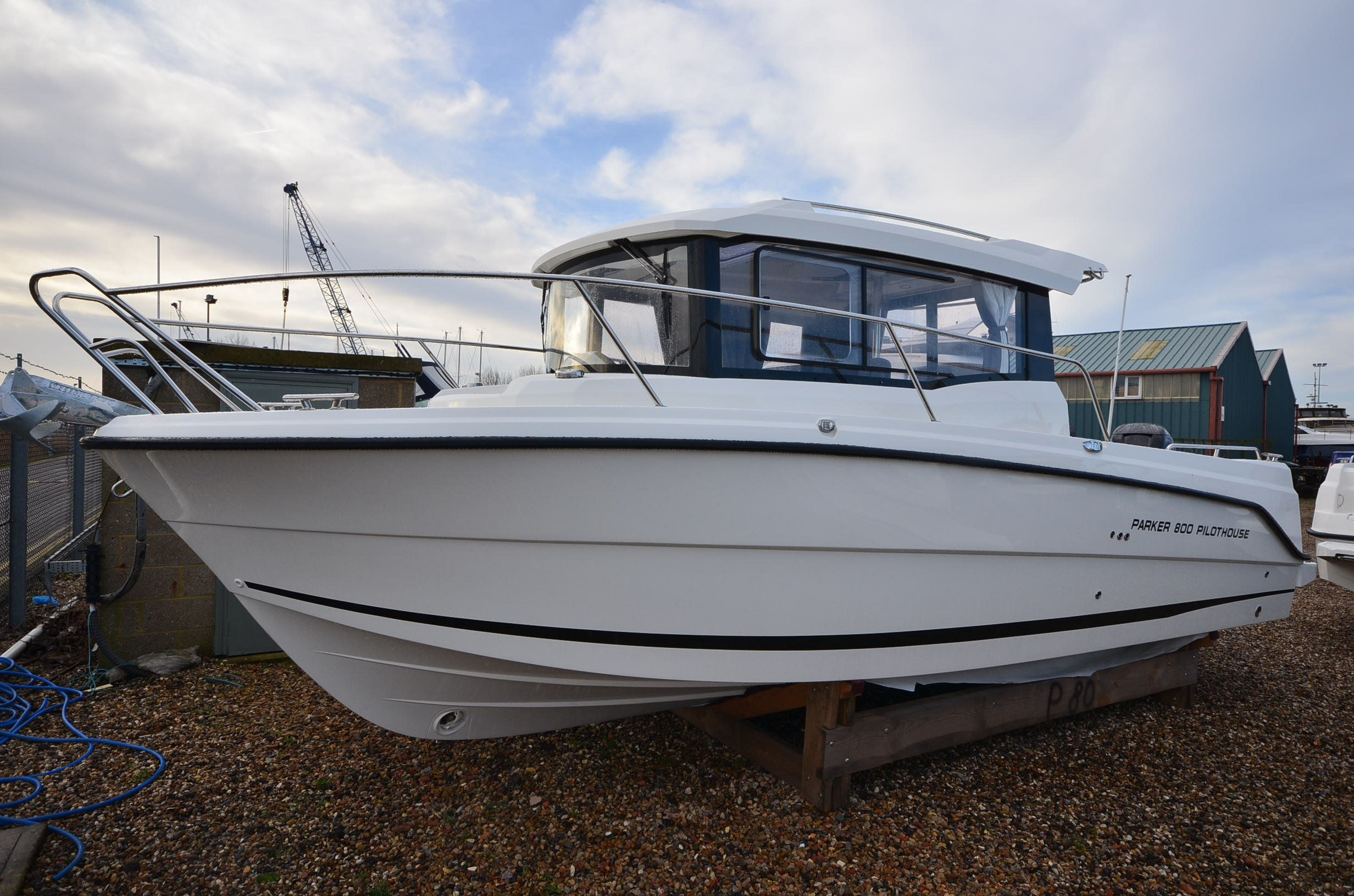parker 800 pilothouse for sale in united kingdom for 84 950