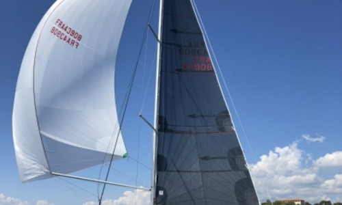 Image of Jeanneau Sun Fast 3200 for sale in France for €118,800 (£101,651) CANET EN ROUSSILLON, France