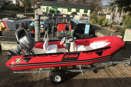 Zodiac Pro 500 9 Man RIB & Brand new trailer for sale in  for £8,995