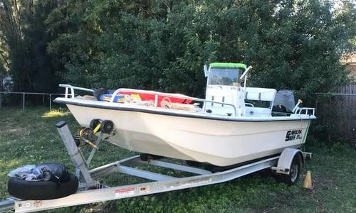 Image of Carolina Skiff 17DLX for sale in United States of America for $10,500 (£8,001) clearwater, Florida, United States of America