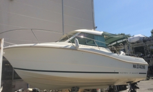 Image of Jeanneau Merry Fisher 725 for sale in France for €29,000 (£25,134) MARSEILLE, France