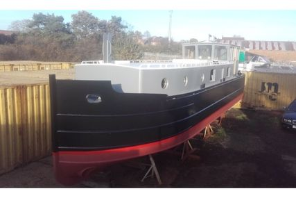 SJL Marine Fabrication 50ft steel barge for sale in United Kingdom for 125 000 £