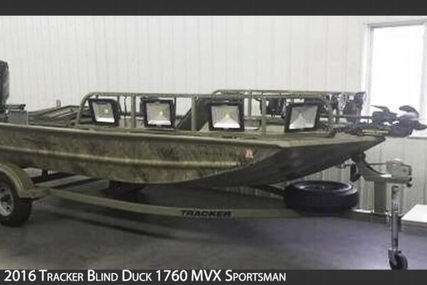 Tracker Grizzly Blind Duck 1760 MVX Sportsman for sale in United States of America for $14,900 (£11,457)