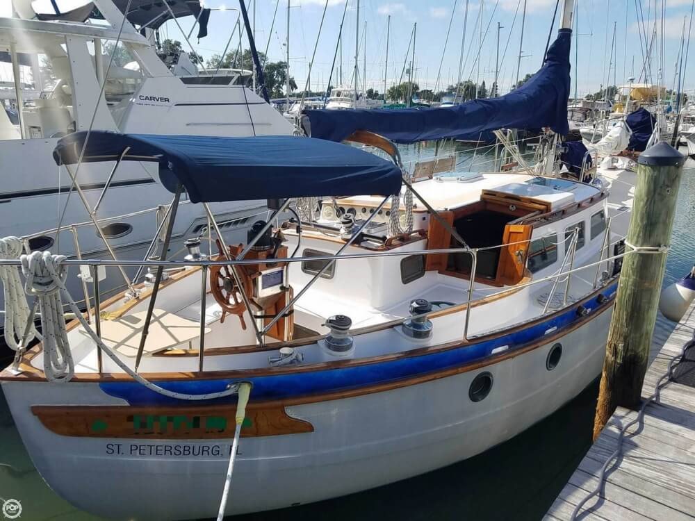 Spindrift 43 Pilothouse Cutter For Sale In United States Of