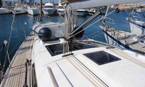 Image of Dufour Yachts Grand Large 382 for sale in Spain for €130,000 (£118,481) Lanzarote, Spain