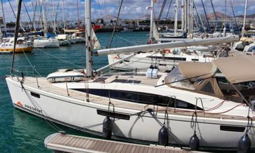 Image of Bavaria Yachts Cruiser 46 for sale in Spain for €240,000 (£219,901) Lanzarote, Spain
