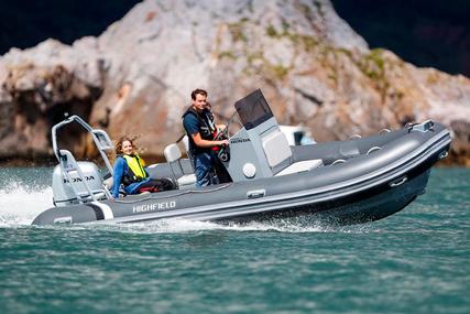 Highfield DL 590 Aluminium RIB - Hypalon for sale in United Kingdom for £34,495