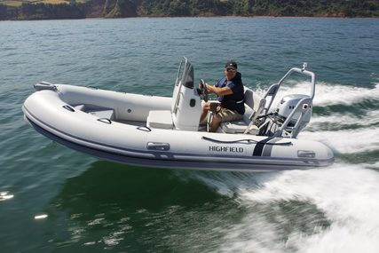 Highfield DL 420 Aluminium RIB for sale in United Kingdom for £18,795