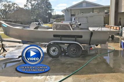 Custom 19 Bay / Mud Boat for sale in United States of America for $21,250 (£16,186)