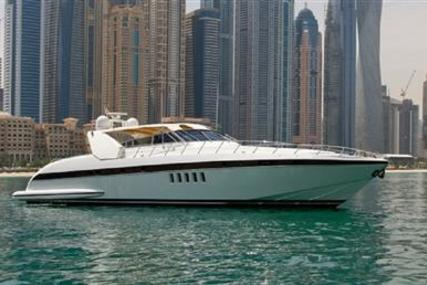 Mangusta 80 Open for sale in United Arab Emirates for $531,000 (£419,995)