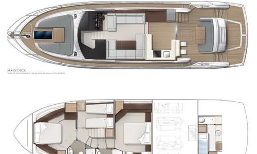Image of Sunseeker Manhattan 52 for sale in France for £1,049,000 La Napoule, France