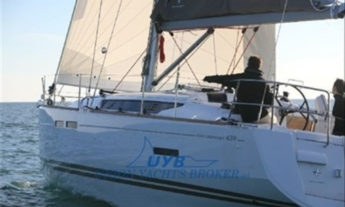 Image of Jeanneau Sun Odyssey 439 for sale in Italy for €165,000 (£144,821) MAR MEDITERRANEO, Italy