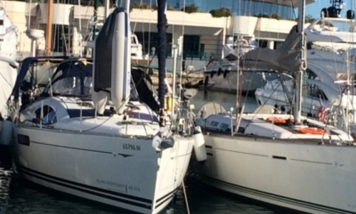 Image of Jeanneau Sun Odyssey 45 DS for sale in France for €165,000 (£141,181) CANNES, France